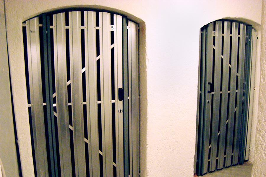Trennwand Simplex für Türen