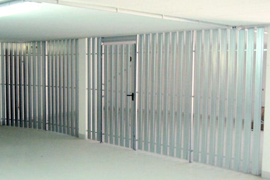 Trennwandsystem Simplex Garage Abrennung