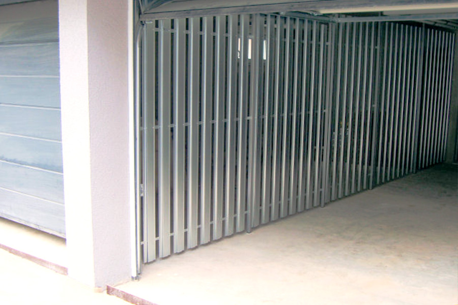 Garagen-Trennwandsystem
