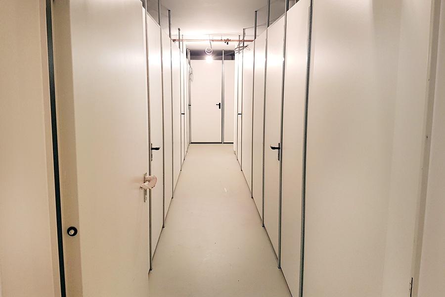 Spanplatten Trennwandsystem